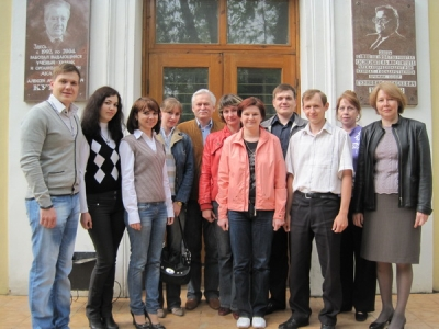 Коллектив лаборатории в 2010 г.