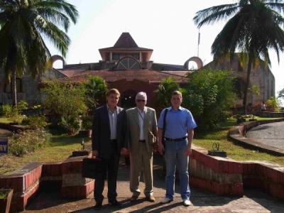 Сотрудники лаборатории 3-6 в Индии